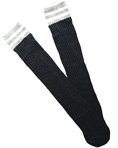 Gris Foncé Acvip Unique Taille Chaussettes Fille 8q41Ufzwx