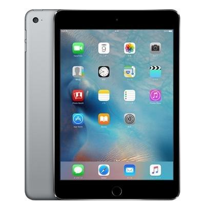 Apple iPad mini4 Wi-Fi Cellular (MK722J/A) 64GB スペースグレイ【国内版 SIMフリー】の商品画像