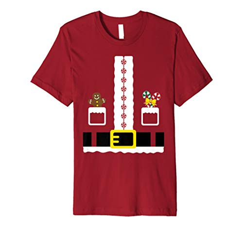 Santa Clause Outfit Christmas Costume Fun Gift Funny Shirt for $<!--$24.44-->