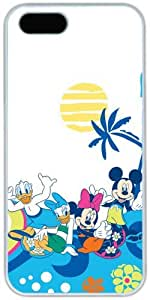 Aloha Mickey Mouse Disney Hard Shell Case for iPhone 4/4s, DIYcase Custom iPhone 4/4s White Plastic Cover