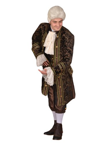 Deluxe French Revolution Era or Louis 16th Theater Quality Costume, (Louis The 16th Costume)