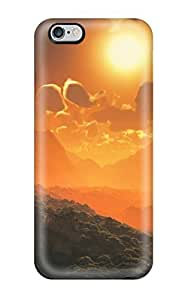 Iphone Cover Case - Landscape Protective Case Compatibel With iphone 4s(3D PC Soft Case)
