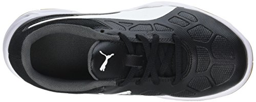 Tenaz Black Enfant Indoor gum Puma Gate puma Mixte White Jr 01 Noir Multisport iron Chaussures puma fq44dwz