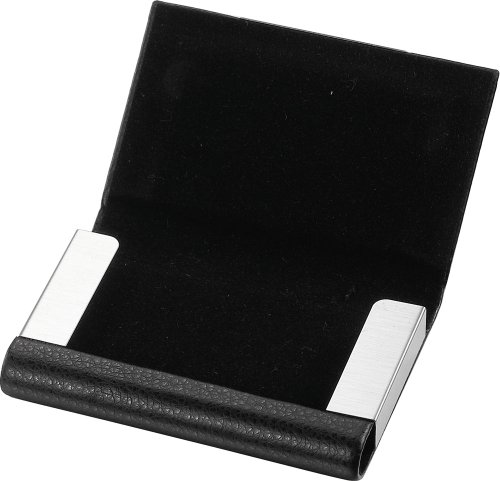 Card Business Visol Products Leather Black Marlin V650B V650B Visol Products Holder wFqxOTz