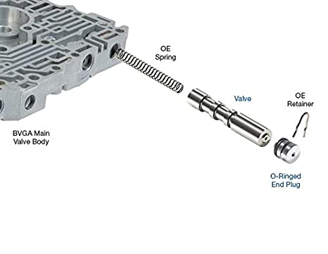 Amazon com: Sonnax 9889216K Shift Valve Kit, Lock-Up B7WA: Automotive