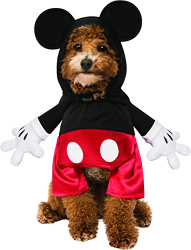 Rubie's Disney: Mickey Mouse & Friends Pet Costume, Mickey Mouse, (Dog Mickey Mouse Costume)