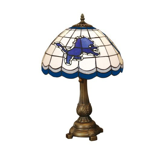 NFL Detriot Lions Tiffany Table Lamp
