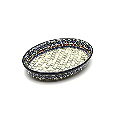 Polish Pottery Baker - Oval - Large - Primrose