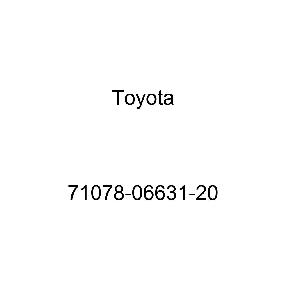 TOYOTA Genuine 71078-06631-20 Seat Back Cover