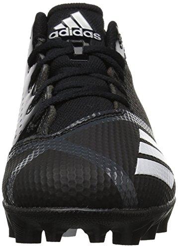 adidas Unisex 5-Star md Football Shoe, Black/White/Night Metallic, 6 M US Big Kid by adidas (Image #4)
