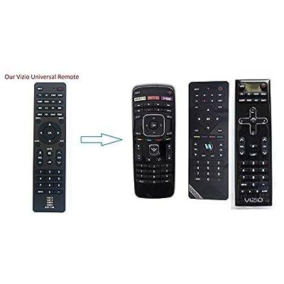 New Vizio XRT100 Universal Remote Control for All VIZIO BRAND TV, Smart TV - 1 Year Warranty