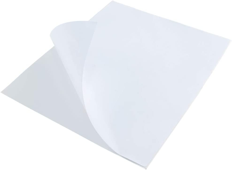 """L LIKED 100 Labels Full-Sheet 8-1/2"""" x 11"""" Self Adhesive Shipping Labels for Laser & Inkjet Printers"""