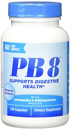 PB 8 Pro-Biotic Acidophilus Nutrition Now 120 Caps