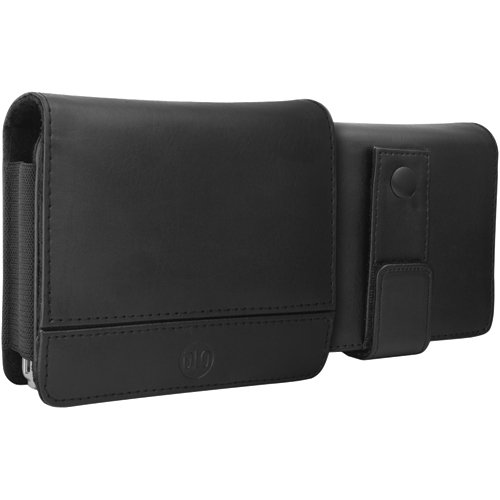- DLO DLG24200/17 TravelFolio Leather Case for 3.5-inch GPS (Black)
