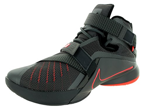 Nike Men's Lebron Soldier IX PRM Dark Grey/Dark...