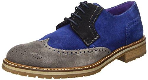 gris Bleu Noir Multicolore Homme Sotoalto Pour Blucher Chaussure wFXq7X
