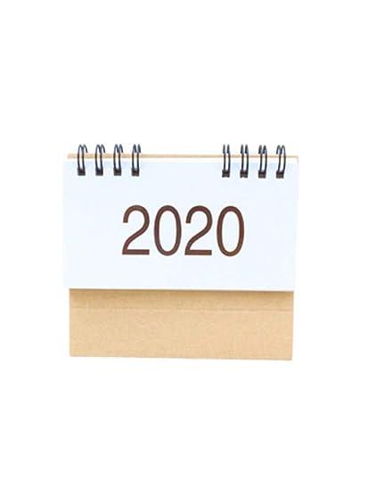 Calendrier Du Mois D Aout 2020.Seawardi Calendrier Des Calendriers De Bureau Debout 2020