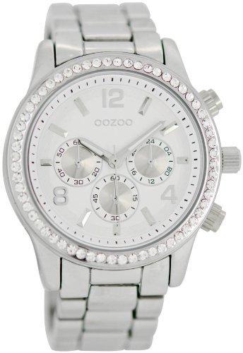 orologio bianco con brillantini