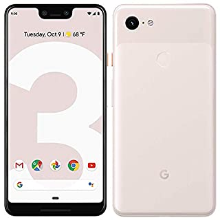 Google Pixel 3 Unlocked GSM/CDMA - US Warranty (Direct from Google) (Not Pink, 128GB) (Renewed)