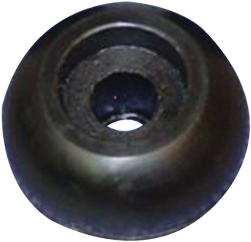 C.H. Yates Rubber 224-5 2-1/2'' X 2-1/2'' Marine End Cap with 5/8'' Shaft for Side Guided Roller