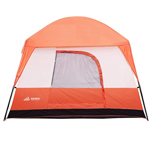 SEMOO Waterproof 4-5 Person 3 Season Family Cabin Tent, Easy