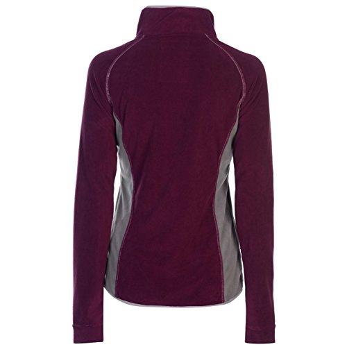 Zip Fiona Donna Half Horseware Camicia Berry Top T6S71qt1Ww