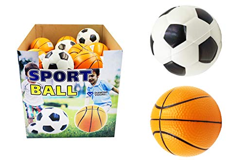 DollarItemDirect Large Foam Soccer/Basketball, Case of 144