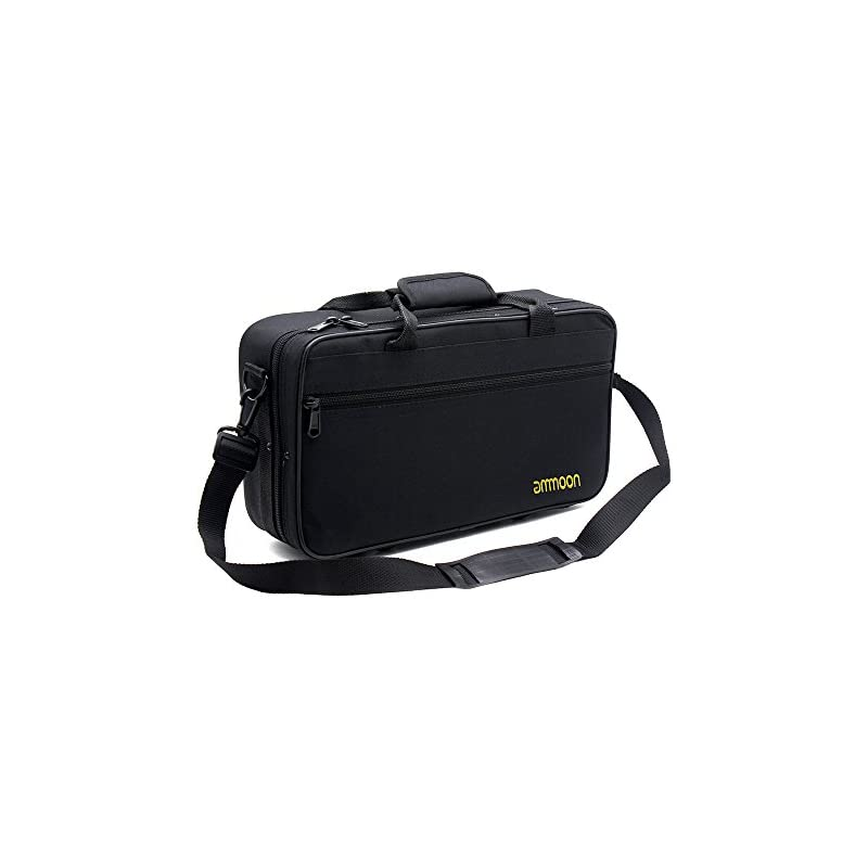 ammoon 600D Water-resistant Gig Bag Box