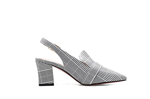 Blanc Sandales AdeeSu Blanc 5 SLC04153 36 Femme EU Compensées 5zIqrHnwI