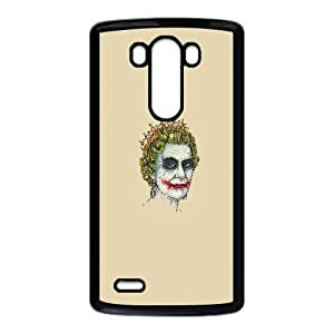The Queen With Joker Makeup Funny LG G3 Cell Phone Case Black Gift pjz003_3339880
