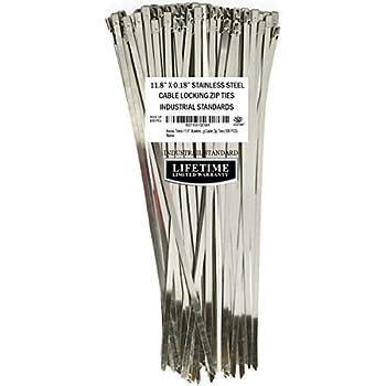 3f34c68249a3 Aroma Trees 100 pcs Metal Zip Ties 11.8
