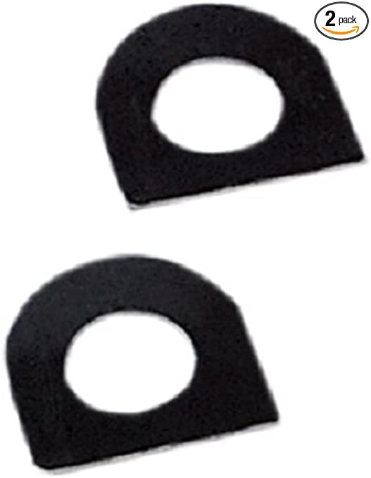 Replaces # 50912-72 Orange Cycle Parts Footrest Spring Washers for Most Aftermarket Male-Mount Footpegs 2 Pack