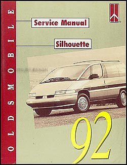 92 oldsmobile silhouette service manual general motors amazon com rh amazon com 2002 oldsmobile silhouette owner's manual download 1998 oldsmobile silhouette owner's manual
