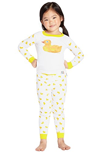 (INTIMO Kid's Eric Carle Yellow Duck Bookjamas)