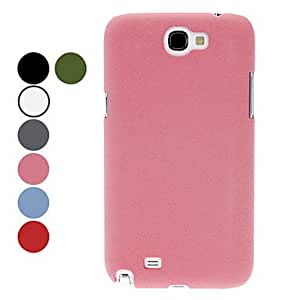 Solid Color Hard Protective Case for Samsung Galaxy Note 2 N7100 (Assorted Colors) , Black