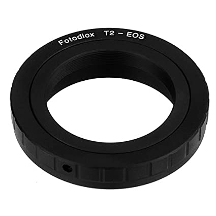 Fotodiox Lens Mount Adapter - T-Mount (T / T-2) Screw Mount SLR Lens to  Canon EOS (EF, EF-S) Mount SLR Camera Body