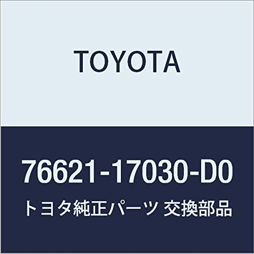 TOYOTA 76621-17030-D0 Fender Mudguard Sub Assembly