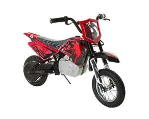 Dynacraft Surge Electric Dirt Bike, Red/Black