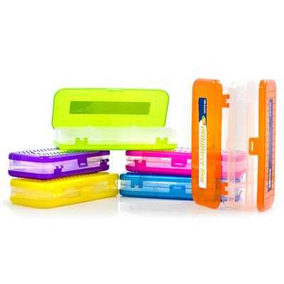 "8"" Double Deck Organizer Box Quantity: Case of 24, Color: Br"