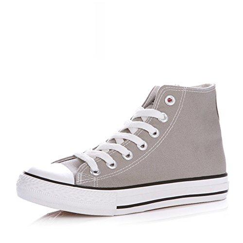 Zapatillas Primavera,Blanco Zapatos Flat-bottom,Estudiante Alta Clásica Pareja Zapatos,Zapatos Deportivos P