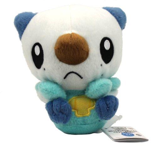 Pokemon Best Wishes Banpresto Plush - 47242 - 5.5' Chibi Mijumaru/Oshawott