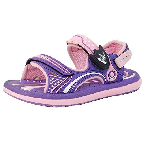 GP Kids Classic SNAP Lock Sandal: 8669 Pink & Purple, EU32 (Size: Little Kids ()