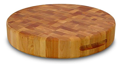 (Catskill 713177 17 Round Slab-Reversible One Size Brown)