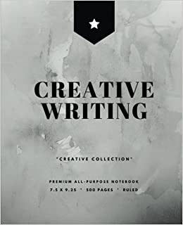 Book Creative Writing: Writer's Notebook, 500 Pages, Softcover, Black (7.5 x 9.25 in.) (Creative Collection)