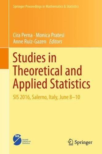 Studies in Theoretical and Applied Statistics: SIS 2016, Salerno, Italy, June 8-10