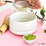 Teami Matcha Green Tea Bowl - Handcrafted for