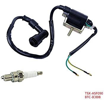 amazon com flypig 2 wire ignition coil spark plug a7tc