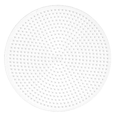 Hama 221 Midi - White Pegboard - Large Circle: Toys & Games