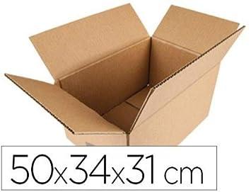 Q-Connect KF26136 - Caja para embalar, 500 x 354 x 310 mm: Amazon.es: Oficina y papelería