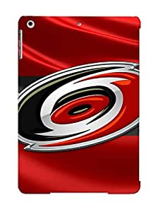 Ipad Air Case, Premium Protective Case With Awesome Look - Carolina Hurricanes 3d Badge Over Silk Flag(gift For Christmas)